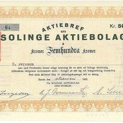 Solinge AB