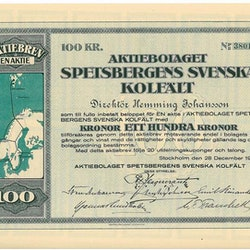 Spetsbergens Svenska Kolfält