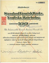 Standard Varnish Works Nordiska AB