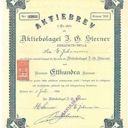 Sterner AB J.E. (Stockaryds Nya Torv AB)