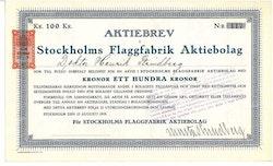 Stockholms Flaggfabrik AB