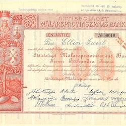 Mälareprovinsernas Bank, AB