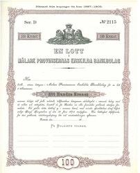Mälare Provinsernas Enskilda Bankbolag