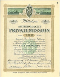 Privatemission, AB