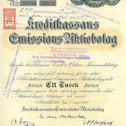 Kreditkassans Emissions AB