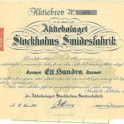 Stockholms Smidesfabrik, AB