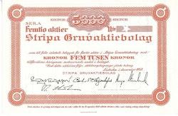 Stripa Gruva, AB