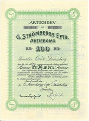 Strömberg Eftr. AB, G.
