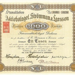 Strömman & Larsson, AB