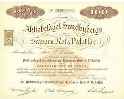 Sundbybergs Trävaru-Kol Vedaffär, AB