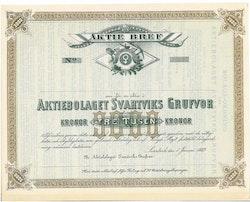 Svartviks Grufvor, AB