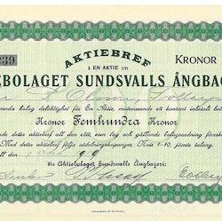 Sundsvalls Ångbageri, AB