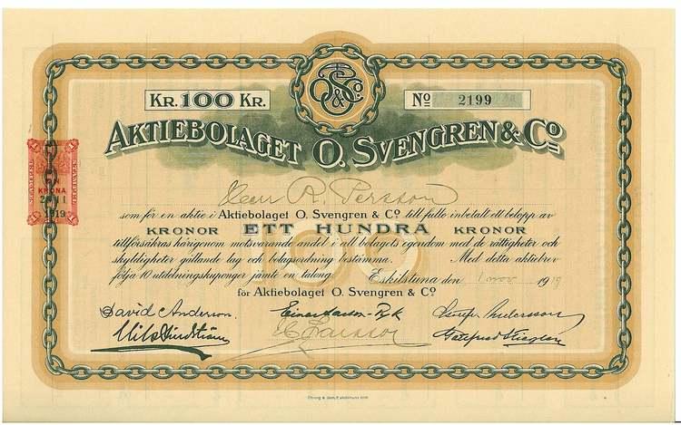 Svengrens & Co., AB O.