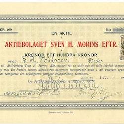 Sven H. Morins Eftr., AB