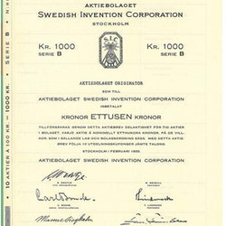 Swedish Invention Corporation AB