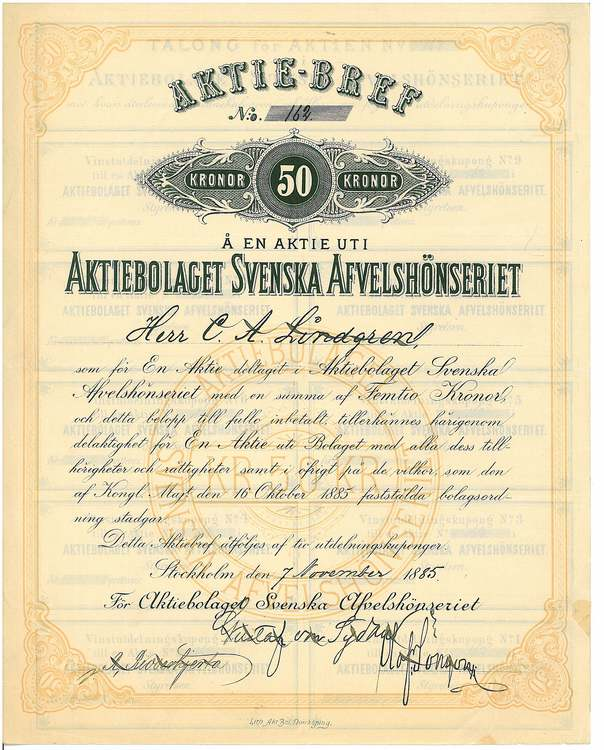 Svenska Afvelshönseriet, AB