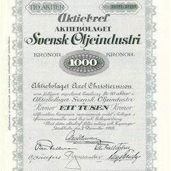 Svensk Oljeindustri, AB