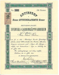Svenska Gardinkäppfabriken, AB