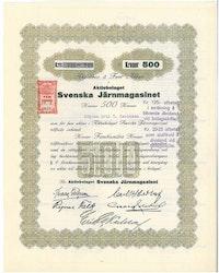Svenska Järnmagasinet, AB