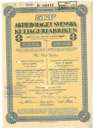 Svenska Kullagerfabriken, AB  SKF