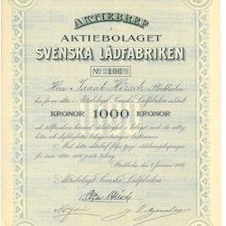 Svenska Lådfabriken, AB