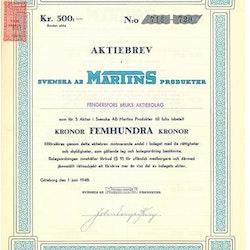 Svenska AB Martins Produkter