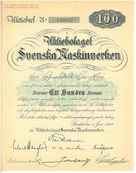 Svenska Maskinverken, AB