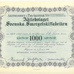 Svenska Smergelskiffabriken, AB
