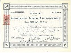 Svenska Råvarukompaniet, AB