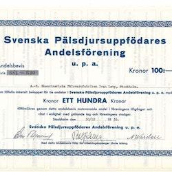 Svenska Pälsdjuruppfödares Andelsförening