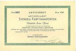Svenska Parfymimporten, AB