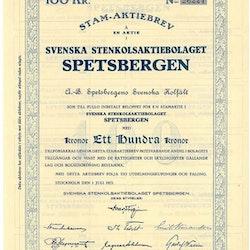 Svenska Stenkols AB Spetsbergen