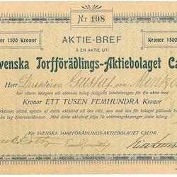 Svenska Torfförädlings AB Calor
