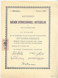 Svensk Utrikeshandel AB