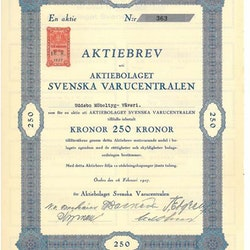 Svenska Varucentralen, AB