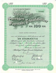 Sveriges Förenade Trikåfabriker, AB