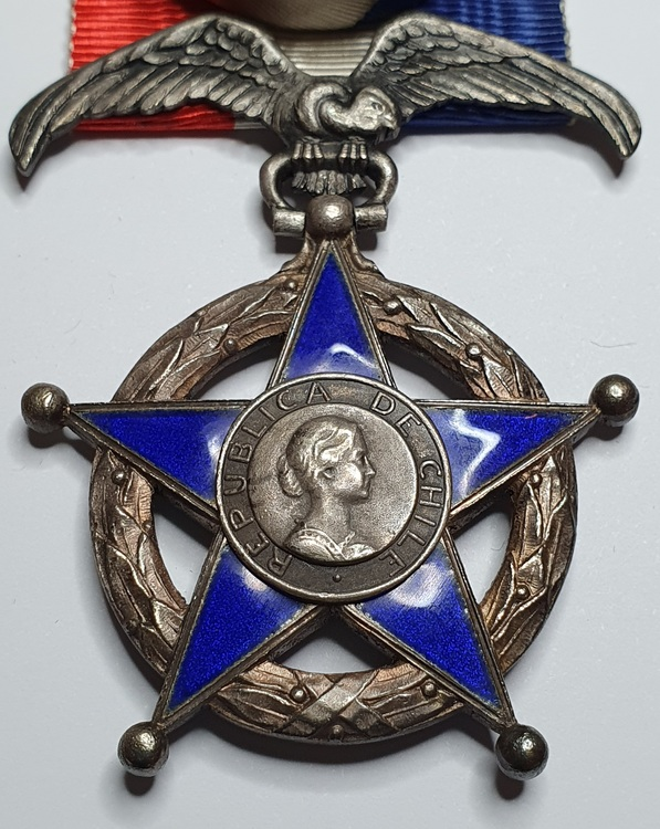 Chile, Hederslegion medalj