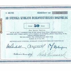 Svenska Kyrkans Diakonistyrelsens Bokförlag