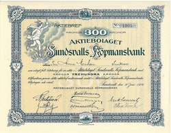 Sundsvalls Köpmansbank, AB