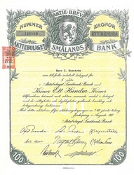 Smålands Bank, AB