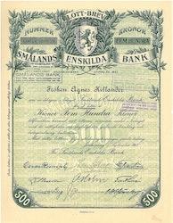 Smålands Enskilda Bank, AB,