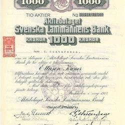 Svenska Lantmännens Bank, AB