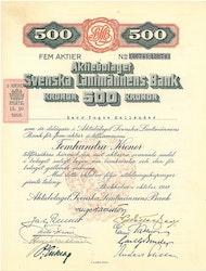 Svenska Lantmännens Bank, AB 1918