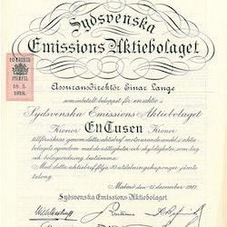 Sydsvenska Emissions AB
