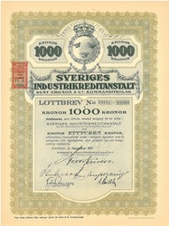 Sveriges Industikreditanstalt Gust. Ericson & Co Kommanditbolag