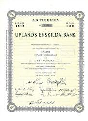 Uplands Enskilda Bank, 1964