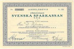 Svenska Sparkassan U.P.A.