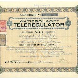 Teleregulator, AB