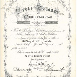 Tivoli Bolaget i Christianstad