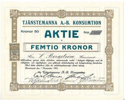 Tjänstemannas AB Konsumtion